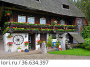 Schwarzwald, Baden-Württemberg, Hochschwarzwald, Sankt Märgen, Rankmühle... Стоковое фото, фотограф Zoonar.com/Bildagentur Geduldig / easy Fotostock / Фотобанк Лори