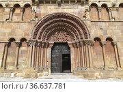 Soria, Santo Domingo (romanesque, 12th century). Castilla y Leon, ... Стоковое фото, фотограф J M Barres / age Fotostock / Фотобанк Лори