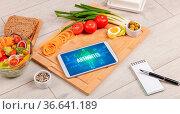 ARTHRITIS concept in tablet with fruits, top view. Стоковое фото, фотограф Zoonar.com/rancz / easy Fotostock / Фотобанк Лори