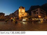 Old Town of Kotor (2019 год). Редакционное фото, фотограф Юлия Белоусова / Фотобанк Лори