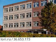 Ehemalige Schule in Güntersberge. Стоковое фото, фотограф Zoonar.com/Daniel Kühne / age Fotostock / Фотобанк Лори