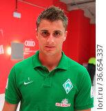 Deutscher Fußballtorhüter Sebastian Mielitz SV Werder Bremen DFB ... Стоковое фото, фотограф Zoonar.com/Axel Kammerer / age Fotostock / Фотобанк Лори