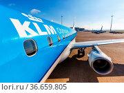 Amsterdam, Niederlande - 29. Mai 2021: Ein Embraer 175 Flugzeug der... Стоковое фото, фотограф Zoonar.com/Markus Mainka / age Fotostock / Фотобанк Лори