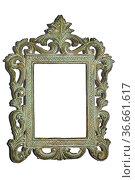Antiker Bilderrahmen - Ancient picture frame. Стоковое фото, фотограф Zoonar.com/lantapix / easy Fotostock / Фотобанк Лори
