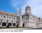 Lissabon Hieronymus Kloster - Lisbon Jeronimos Monastery 10. Стоковое фото, фотограф Zoonar.com/LianeM / easy Fotostock / Фотобанк Лори