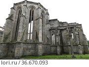 Convento de Santo Domingo, gothic 14th century. Pontevedra city, ... Стоковое фото, фотограф J M Barres / age Fotostock / Фотобанк Лори