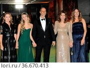 Eduardo Ponti, Sophia Loren, Roberta Armani and Sasha Alexander at... Стоковое фото, фотограф Zoonar.com/Lumeimages.com / age Fotostock / Фотобанк Лори