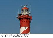 Leuchtturm Hamstede, Zeeland, Holland, Niederlande   Lighthouse, ... Стоковое фото, фотограф Zoonar.com/GUENTER LENZ / age Fotostock / Фотобанк Лори