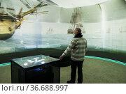 Stockholm, Sweden An exhibition of sunken ships at Vrak, The Museum... Редакционное фото, фотограф A. Farnsworth / age Fotostock / Фотобанк Лори