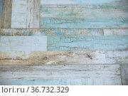 Vintage floor tiles imitating natural wooden boards. Стоковое фото, фотограф Ольга Зиновская / Фотобанк Лори