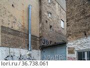 """Berlin, Germany - fire walls in a building corner"" Редакционное фото, агентство Caro Photoagency / Фотобанк Лори"