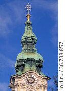 Stadtpfarrkirche zum hl. blut, graz, austria. Стоковое фото, фотограф Danilo Donadoni / age Fotostock / Фотобанк Лори