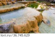 Red springs near Pamukkale in Turkey. Стоковое фото, фотограф Яков Филимонов / Фотобанк Лори