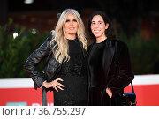 Tiziana Rocca, Cristiana Alagna during the premiere of 'Cyrano' at... Редакционное фото, фотограф AGF/Maria Laura Antonelli / age Fotostock / Фотобанк Лори