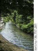 Lambro River, Monza, Lombardy, Italy. Стоковое фото, фотограф Arthur S. Ruffino / age Fotostock / Фотобанк Лори