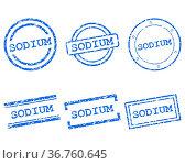 Sodium Stempel. Стоковое фото, фотограф Zoonar.com/Robert Biedermann / easy Fotostock / Фотобанк Лори
