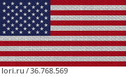 The American national flag of United States Of America, America with... Стоковое фото, фотограф Zoonar.com/Claudio Divizia / easy Fotostock / Фотобанк Лори