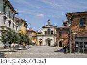 Convent of St. Mary of Carrobiolo (Convento di Santa Maria al Carrobiolo... Стоковое фото, фотограф Arthur S. Ruffino / age Fotostock / Фотобанк Лори