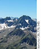 Acherkogel, kühtaiberge, stubaier alpen, alpen,berg, berge,gipfel... Стоковое фото, фотограф Zoonar.com/Volker Rauch / easy Fotostock / Фотобанк Лори