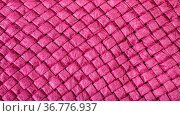 Textile panoramic background - weaving of summer straw hat from purple... Стоковое фото, фотограф Zoonar.com/Valery Voennyy / easy Fotostock / Фотобанк Лори
