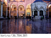 Night and light in mosque in Istanbul. Стоковое фото, фотограф Zoonar.com/Valeriy Shanin / age Fotostock / Фотобанк Лори