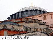 Roof of Hagya Sophya in Istanbul, Turkey. Стоковое фото, фотограф Zoonar.com/Valeriy Shanin / age Fotostock / Фотобанк Лори