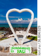 Candidasa Beach - Bali Island Indonesia - nature travel background. Стоковое фото, фотограф Zoonar.com/Nikolai Sorokin / easy Fotostock / Фотобанк Лори