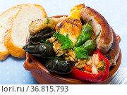Kapama - traditional Bulgarian dish. Стоковое фото, фотограф Яков Филимонов / Фотобанк Лори