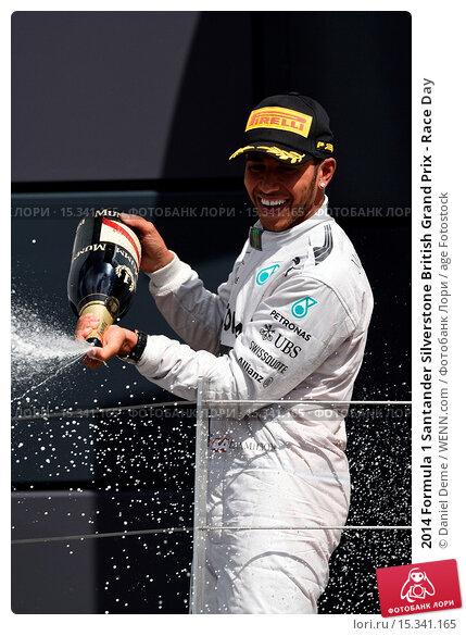 Купить «2014 Formula 1 Santander Silverstone British Grand Prix - Race Day Featuring: Lewis Hamilton Where: Silverstone, United Kingdom When: 06 Jul 2014 Credit: Daniel Deme/WENN.com», фото № 15341165, снято 6 июля 2014 г. (c) age Fotostock / Фотобанк Лори