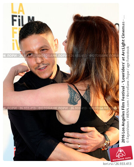 2016 Los Angeles Film Festival - 'Lowriders' at ArcLight Cinemas - Arrivals Featuring: Theo Rossi, Meghan McDermott Rossi Where: Hollywood, California..., фото № 26933413, снято 1 июня 2016 г. (c) age Fotostock / Фотобанк Лори