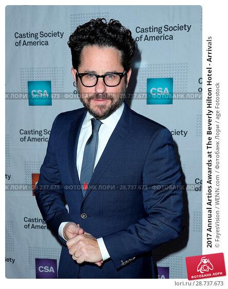 Купить «2017 Annual Artios Awards at The Beverly Hilton Hotel - Arrivals Featuring: J.J. Abrams Where: Beverly Hills, California, United States When: 20 Jan 2017 Credit: FayesVision/WENN.com», фото № 28737673, снято 20 января 2017 г. (c) age Fotostock / Фотобанк Лори