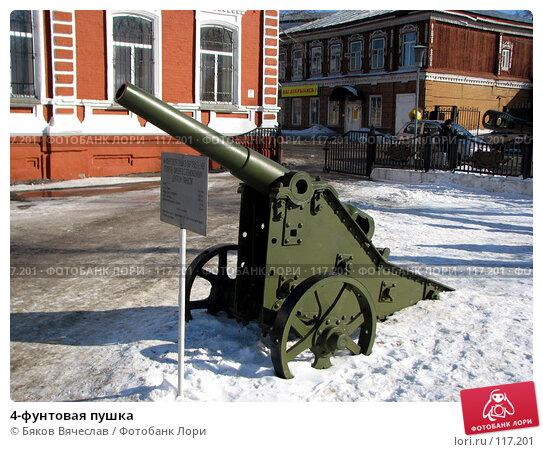 4-фунтовая пушка, фото № 117201, снято 11 марта 2007 г. (c) Бяков Вячеслав / Фотобанк Лори