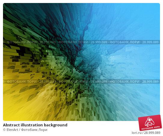Купить «Abstract illustration background», иллюстрация № 28999089 (c) ElenArt / Фотобанк Лори