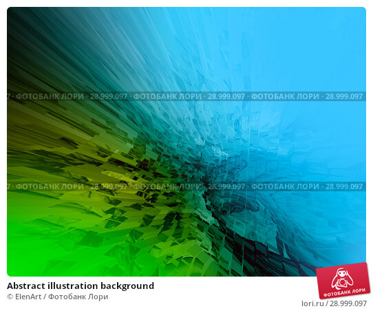 Купить «Abstract illustration background», иллюстрация № 28999097 (c) ElenArt / Фотобанк Лори