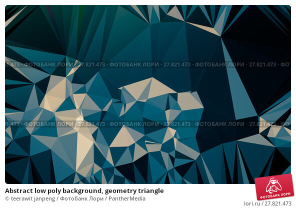 Купить «Abstract low poly background, geometry triangle», фото № 27821473, снято 19 октября 2018 г. (c) PantherMedia / Фотобанк Лори