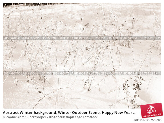 Abstract Winter background, Winter Outdoor Scene, Happy New Year ... Стоковое фото, фотограф Zoonar.com/Supertrooper / age Fotostock / Фотобанк Лори