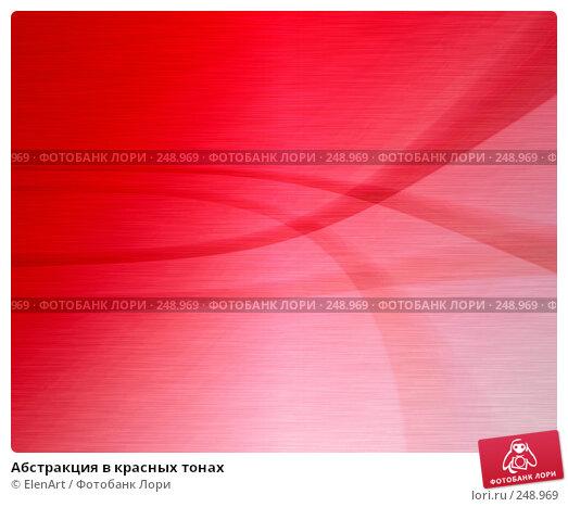 Купить «Абстракция в красных тонах», иллюстрация № 248969 (c) ElenArt / Фотобанк Лори