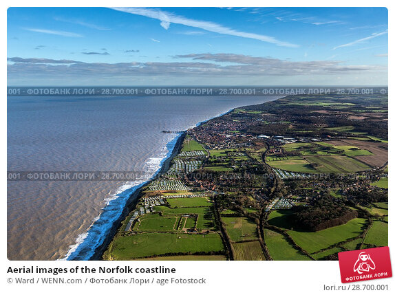 Купить «Aerial images of the Norfolk coastline Featuring: Norfolk coastline Where: Wells Next The Sea, United Kingdom When: 17 Jan 2016 Credit: Ward/WENN.com», фото № 28700001, снято 17 января 2016 г. (c) age Fotostock / Фотобанк Лори