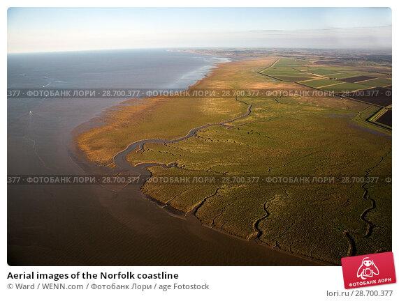 Купить «Aerial images of the Norfolk coastline Featuring: Norfolk coastline Where: Norfolk, United Kingdom When: 27 Aug 2014 Credit: Ward/WENN.com», фото № 28700377, снято 27 августа 2014 г. (c) age Fotostock / Фотобанк Лори