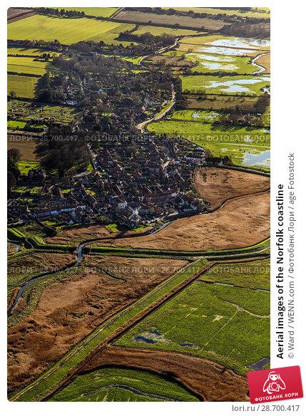 Купить «Aerial images of the Norfolk coastline Featuring: Norfolk coastline Where: Wells Next The Sea, United Kingdom When: 17 Jan 2016 Credit: Ward/WENN.com», фото № 28700417, снято 17 января 2016 г. (c) age Fotostock / Фотобанк Лори