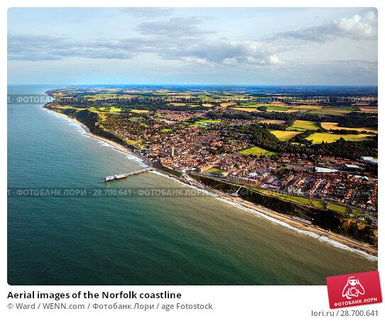 Купить «Aerial images of the Norfolk coastline Featuring: Norfolk coastline Where: Norfolk, United Kingdom When: 27 Aug 2014 Credit: Ward/WENN.com», фото № 28700641, снято 27 августа 2014 г. (c) age Fotostock / Фотобанк Лори