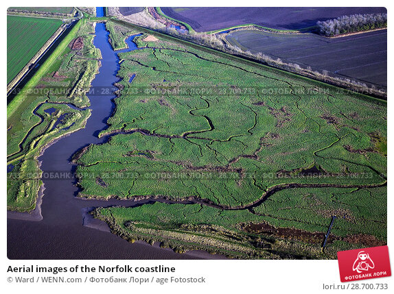 Купить «Aerial images of the Norfolk coastline Featuring: Norfolk coastline Where: Norfolk, United Kingdom When: 27 Aug 2014 Credit: Ward/WENN.com», фото № 28700733, снято 27 августа 2014 г. (c) age Fotostock / Фотобанк Лори