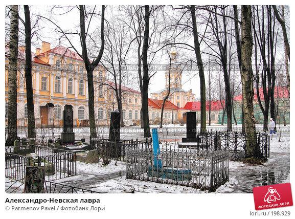 Купить «Александро-Невская лавра», фото № 198929, снято 8 февраля 2008 г. (c) Parmenov Pavel / Фотобанк Лори