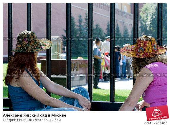Купить «Александровский сад в Москве», фото № 246045, снято 14 августа 2007 г. (c) Юрий Синицын / Фотобанк Лори