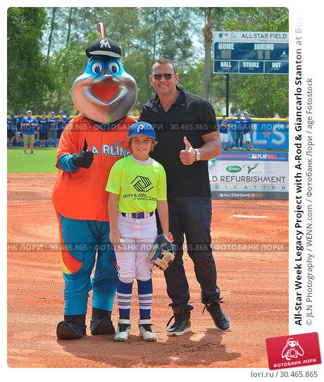 All-Star Week Legacy Project with A-Rod & Giancarlo Stanton at Boys... (2017 год). Редакционное фото, фотограф JLN Photography / WENN.com / age Fotostock / Фотобанк Лори