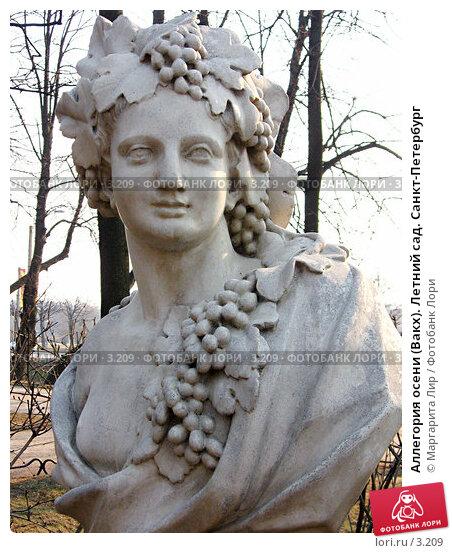 Аллегория осени (Вакх). Летний сад. Санкт-Петербург, фото № 3209, снято 19 сентября 2017 г. (c) Маргарита Лир / Фотобанк Лори