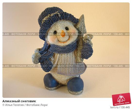 Алмазный снеговик, фото № 130445, снято 28 ноября 2007 г. (c) Илья Телегин / Фотобанк Лори