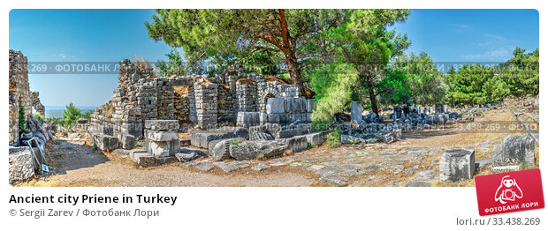 Купить «Ancient city Priene in Turkey», фото № 33438269, снято 20 июля 2019 г. (c) Sergii Zarev / Фотобанк Лори