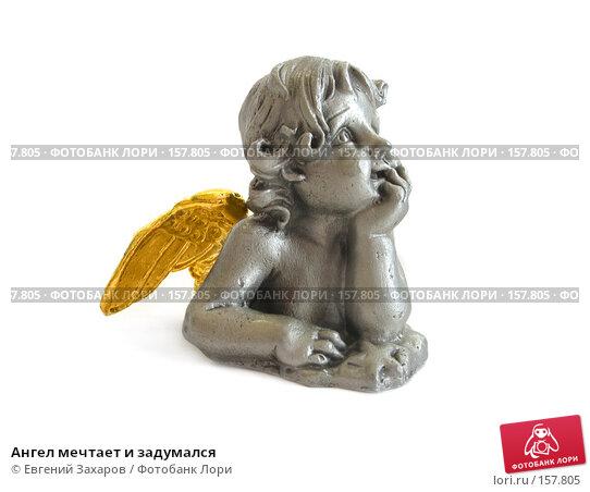 Купить «Ангел мечтает и задумался», эксклюзивное фото № 157805, снято 23 декабря 2007 г. (c) Евгений Захаров / Фотобанк Лори