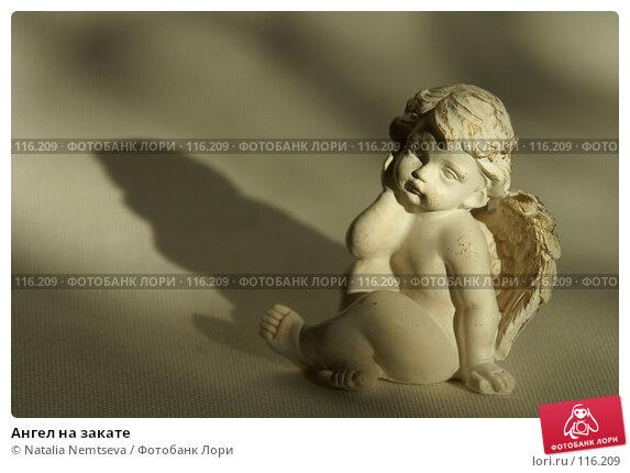 Ангел на закате, эксклюзивное фото № 116209, снято 30 октября 2007 г. (c) Natalia Nemtseva / Фотобанк Лори